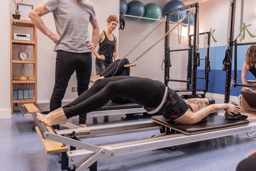 Pilates Máquinas - Centro Kiden LLodio