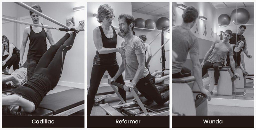Equipamiento Método Pilates Máquina