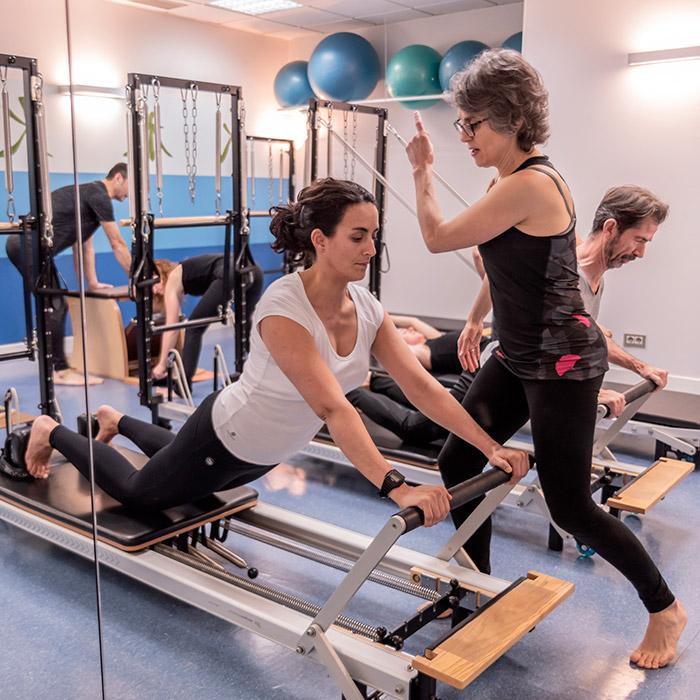 Clases de Pilates Máquinas Centro Kiden