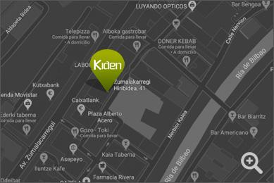Localización Kiden Centro Integral de Salud y Deporte