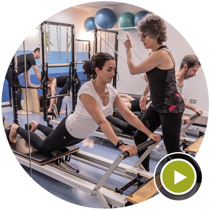 Clases de Pilates con Máquina Centro Kiden