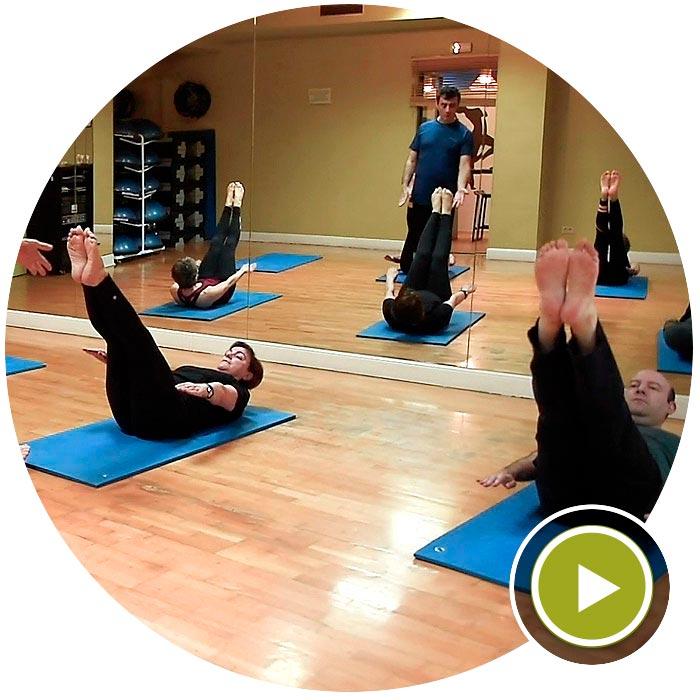 Clases de Pilates Mat Centro Kiden